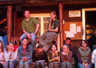 2007 turnus 1. Życie obozowe