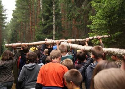 2008 turnus 1. Życie obozowe