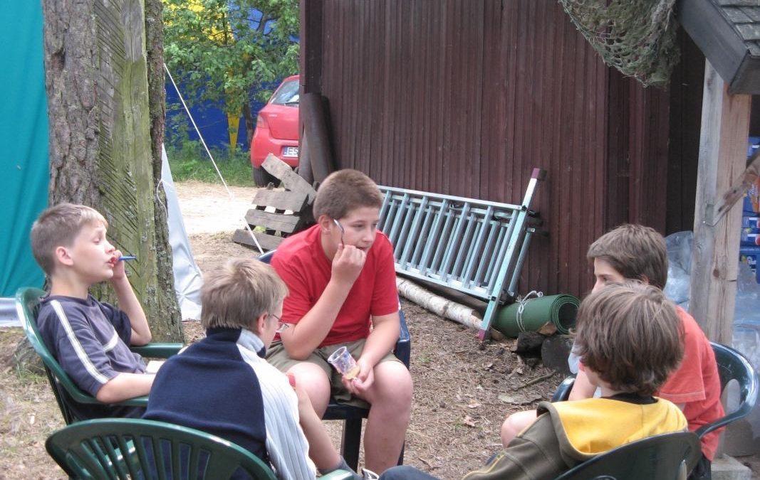 2009 turnus 1. Życie obozowe