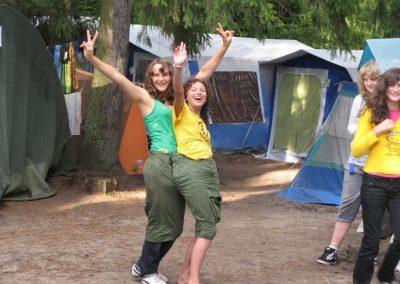 2009 turnus 2. Życie obozowe